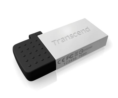 Transcend JetFlash 380S 16GB stříbrný