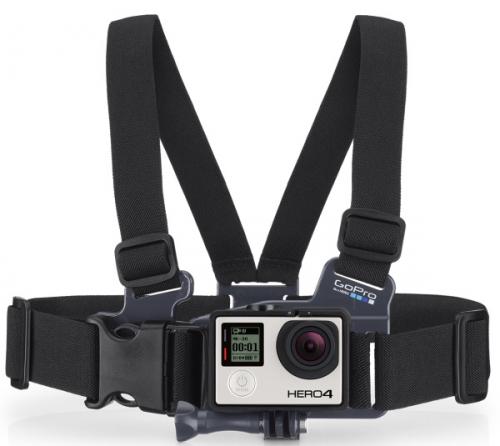 GoPro Junior na prsa černý