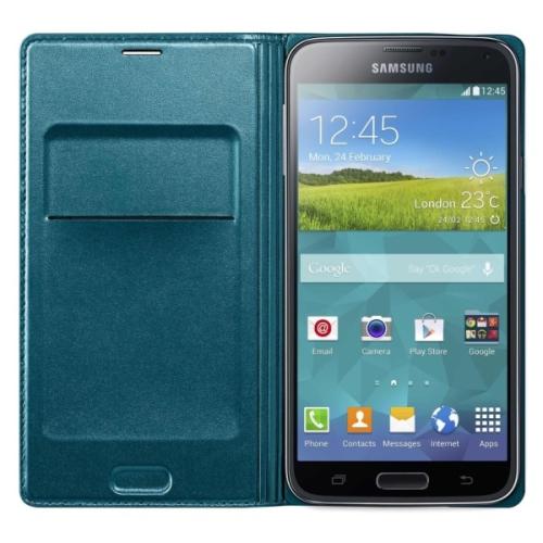 Samsung pro Galaxy S5 s kapsou (EF-WG900BG) - topaz