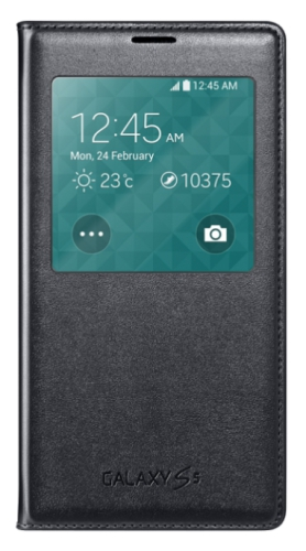Samsung S-View pro Galaxy S5 (EF-CG900B) černé