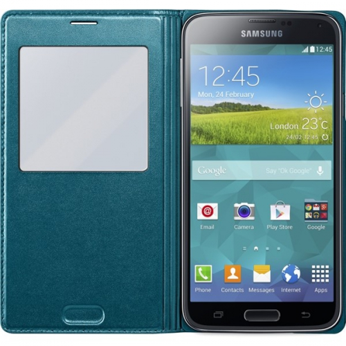 Samsung S-view pro Galaxy S5 (EF-CG900B) zelené