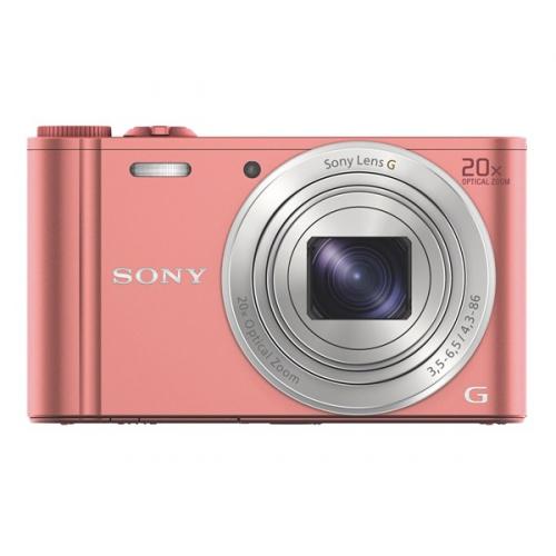 Digitální fotoaparát Sony Cyber-shot DSC-WX350 růžový