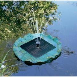 CNR solární, s ostrůvkem a fontánkou