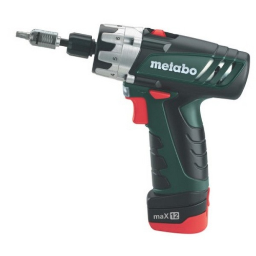 Metabo PowerMaxx BS Basic, 2 aku