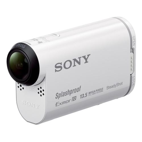Sony HDR-AS100VR + set s dálkovým ovladačem bílá