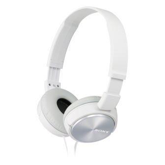 Sluchátka Sony MDRZX310W.AE bílá