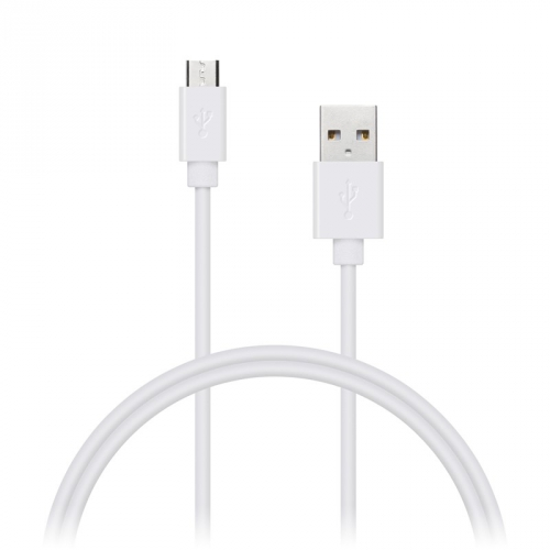 Kabel Connect IT Wirez USB/micro USB, 1m bílý