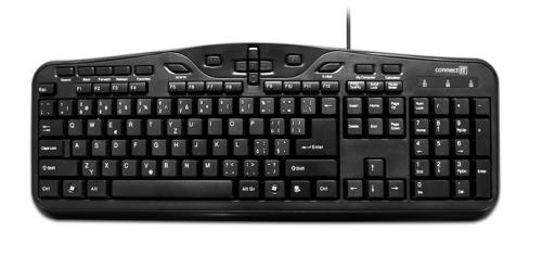 Connect IT CI-81, CZ černá