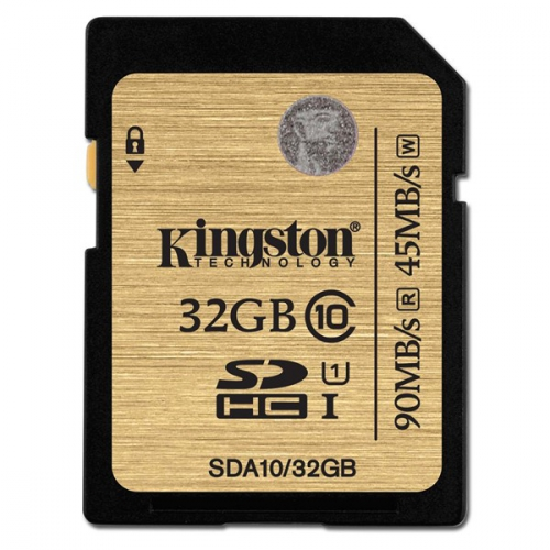 Fotografie Kingston 32GB UHS-I U1 (90R/45W) + adapter
