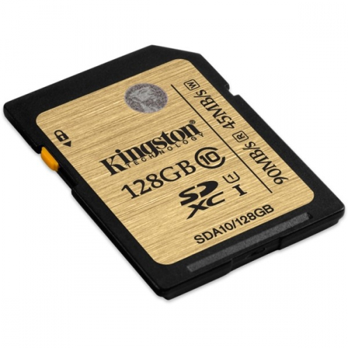 Paměťová karta Kingston SDXC 128GB UHS-I U1 (90R/45W)