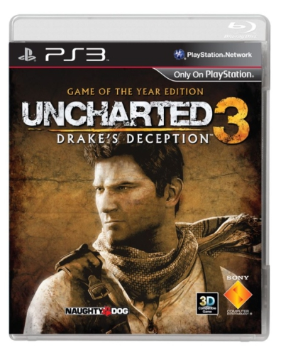 Sony PlayStation 3 Uncharted 3 Drake's Deception GOTY s DLC