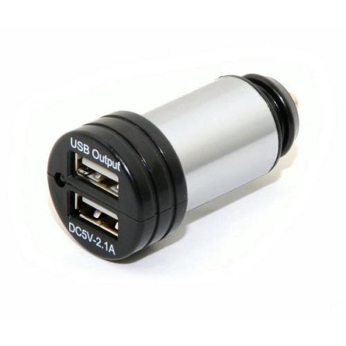 Fotografie Zástrčka USB 12-24V 5V/2100mA E homologace, COMPASS