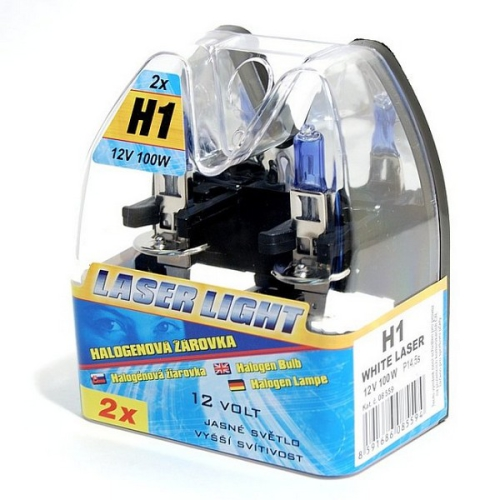 Compass 12 V H1 100W WHITE LASER 2 ks