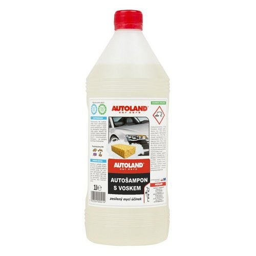 Autoland Nano+ s voskem, 1l