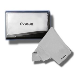 Canon Lens Cloth in Hard Case