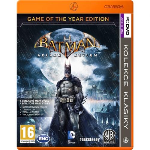 Ostatní PC Batman: Arkham Asylum Game of the Year