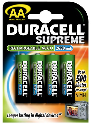 Akumulátor Duracell Accu Rechargeable AA-4NiMH 2650mAh