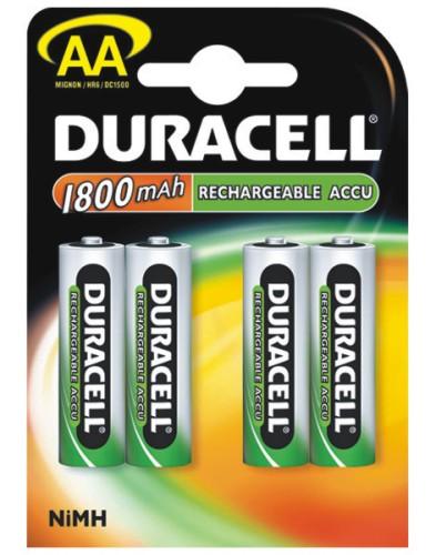 Akumulátor Duracell Accu NB HR6 - 4 NiMH 1800 (AA)