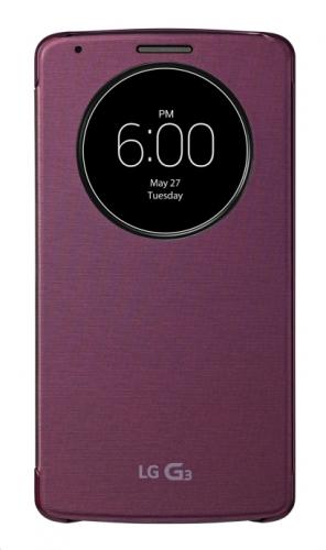 LG Quick Circle (Snap On) pro G3 červené