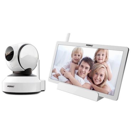 Zabezpečovací kamera + monitor Semac IP CAM 552
