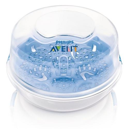 AVENT do mikrovlnné trouby bílý/modrý