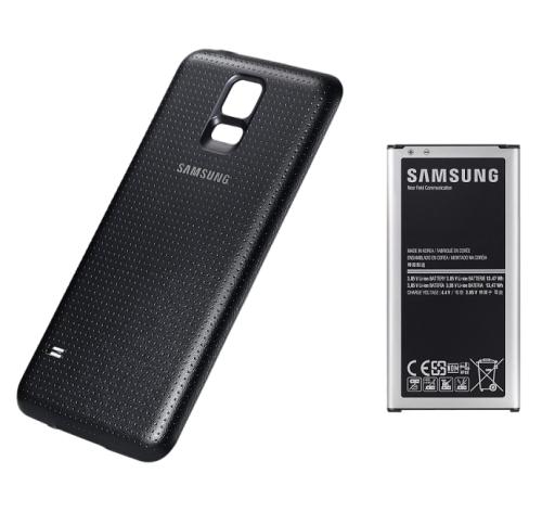 Samsung pro Galaxy S5 s krytem 3500mAh NFC (EB-EG900BB) černý