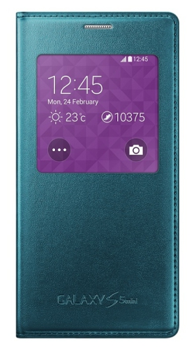 Samsung S-View pro Galaxy S5 mini (EF-CG800BG) - Metal Green