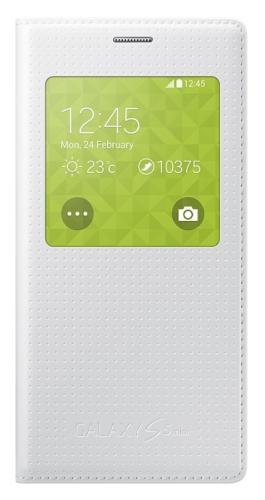 Samsung S-View pro Galaxy S5 mini (EF-CG800BH) bílé