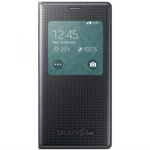 Samsung S-View pro Galaxy S5 mini (EF-CG800BK) černé