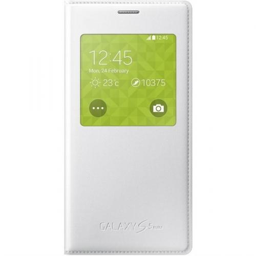 Samsung S-View pro Galaxy S5 mini (EF-CG800BW) bílé
