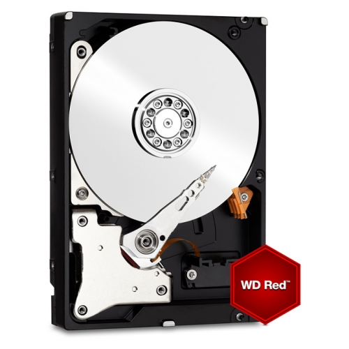 Western Digital RED 6TB, SATA III, IntelliPower, 64MB cache (WD60EFRX)