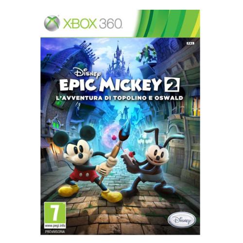 Disney Xbox 360 Epic Mickey 2: Dvojitý zásah