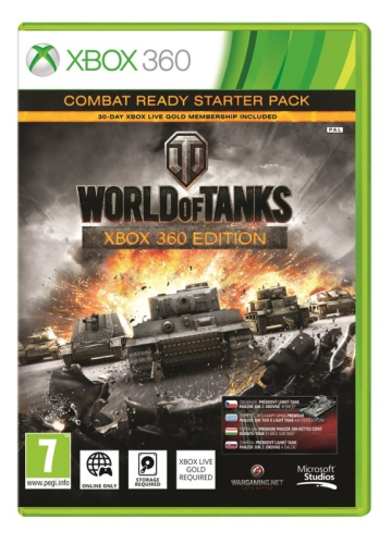 Microsoft Xbox 360 World of Tanks Combat ready starter pack