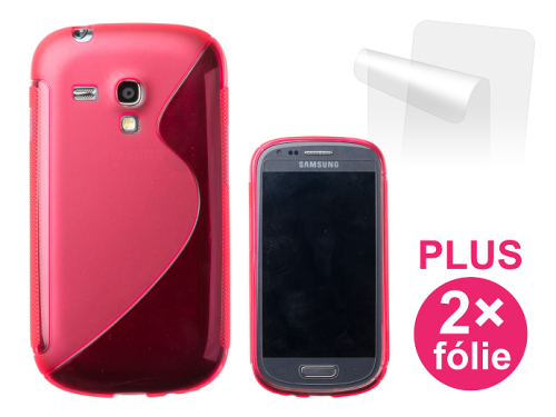 Connect IT pro Samsung Galaxy S3 Mini (i8190) + 2ks ochranná fólie