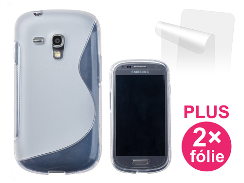 Connect IT pro Samsung Galaxy S3 Mini (i8190) + 2ks ochranná fólie průhledný