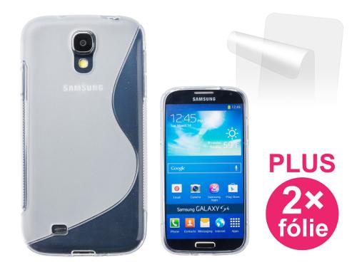 Connect IT pro Samsung Galaxy S4 (i9505) + 2ks ochranná fólie průhledný