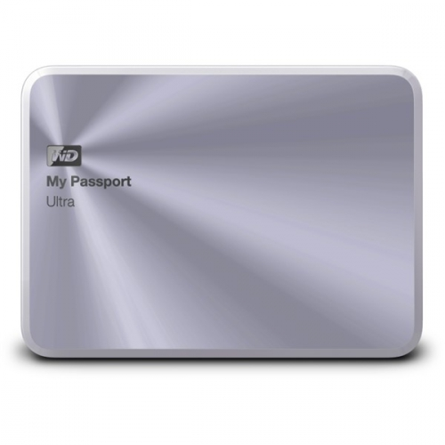 Western Digital My Passport Ultra Metal 2TB USB 3.0 stříbrný