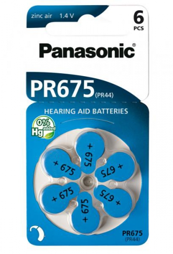 Panasonic ZA675, blistr 6ks