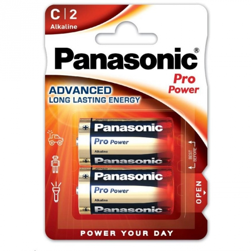 Baterie alkalická Panasonic Pro Power C, LR14, blistr 2ks