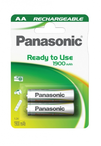 Panasonic Evolta AA, HR6, 1900mAh, blistr 2ks