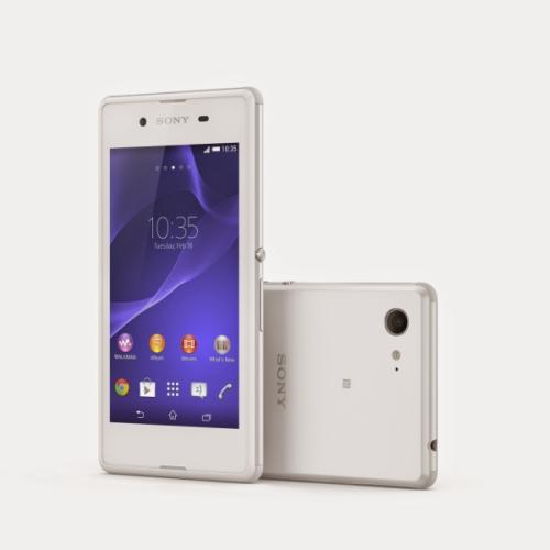 Sony Xperia E3 (D2203) bílý