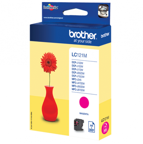 Brother LC121M magenta | DCP-J552DW/MFC-J470DW
