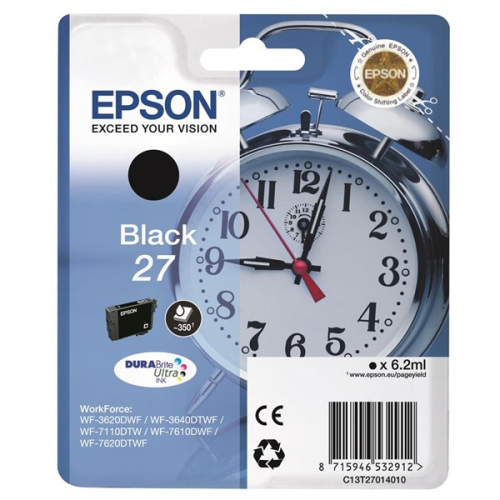 Epson Black 27 DURABrite Ultra Ink