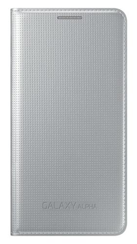 Samsung pro Galaxy Alpha (EF-FG850BS) stříbrné