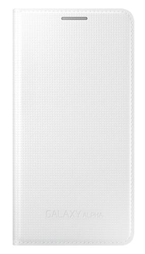 Samsung pro Galaxy Alpha (EF-FG850BW) bílé