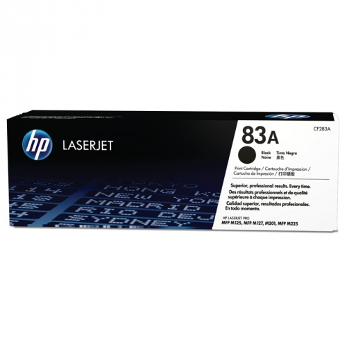HP černý, CF283A