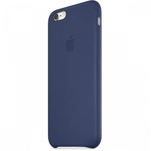 Apple Leather Case pro iPhone 6 Plus - Midnight Blue