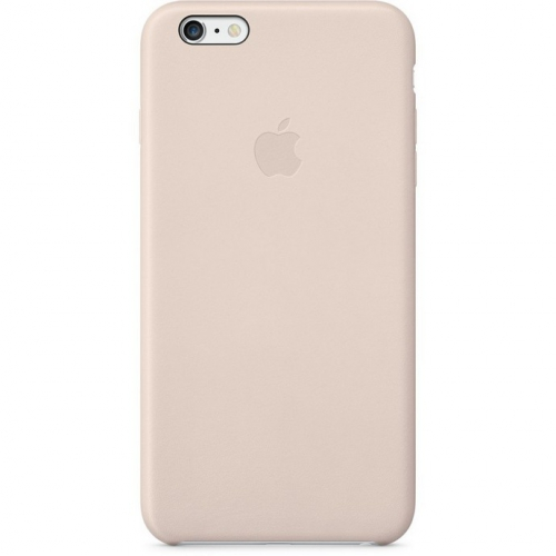 Apple Leather Case pro iPhone 6 Plus - Soft Pink
