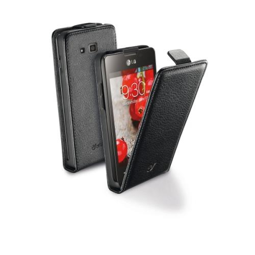 CellularLine Essential Flip pro LG Optimus L9 II černé