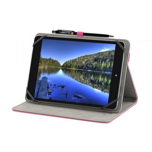 """Pouzdro na tablet polohovací GoGEN pro 7,85"""" + stylus růžové"""